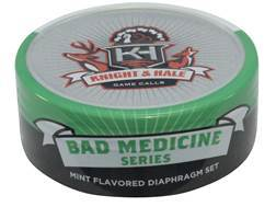 Knight & Hale Bad Medicine Diaphragm Turkey Call 3 Pack