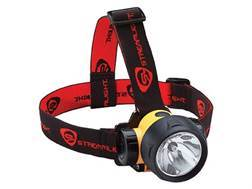 Streamlight Trident Headlamp Xenon Bulb with 3 White LEDs and Batteries (3 AAA Alkaline) Polymer Yellow