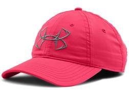 Under Armour Women's Fish Hook Cap Polyester Pink Shock