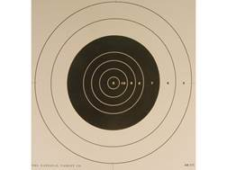 NRA Official High Power Rifle Targets Repair Center MR-31C 100 Yard Slow Fire Paper Pack of 100