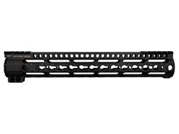 Midwest Industries LWK-Series Free Float Lightweight KeyMod Handguard AR-15 Rifle Length Aluminum Black