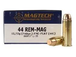 Magtech Sport Ammunition 44 Remington Magnum 240 Grain Full Metal Jacket