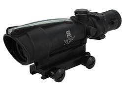 Trijicon ACOG TA11 BAC Rifle Scope 3.5x 35mm Dual-Illuminated Chevron 308 Winchester Reticle with...