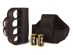 ZAP Blast Knuckle 950,000 Volt Stun Gun with 2 CR123A Batteries Polymer Black