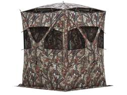 "Barronett Cool Factor Ground Blind 75"" x 75"" x 80"" Polyester Bloodtrail Camo"