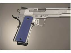 Hogue Extreme Series Grips 1911 Government, Commander Ambidextrous Safety Cut Aluminum Matte
