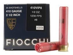 "Fiocchi Exacta Target Ammunition 410 Bore 2-1/2"" 1/2 oz #8 Shot"