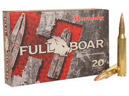 Hornady Full Boar Ammunition 270 Winchester 130 Grain Gliding Metal Expanding Boat Tail Box of 20