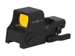 Sightmark Ultra Shot M-Spec Red Dot Sight 1x 65 MOA Circle Dot Crosshair (60 MOA circle w/ 5 MOA subtension, 2 MOA central dot) Reticle Matte
