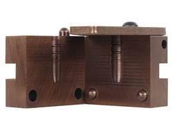 Saeco 1-Cavity Magnum Bullet Mold #307 30 Caliber (309 Diameter)180 Grain Flat Nose Gas Check