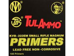TulAmmo Small Rifle Magnum Primers Lead-Free