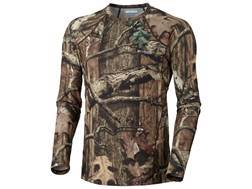 Columbia Sportswear Men's PHG Midweight Base Layer Shirt Long Sleeve Synthetic Blend Mossy Oak Break-Up Infinity Camo XL 46-49