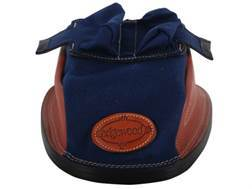 Edgewood Original Rear Shooting Rest Bag Short with Bunny Ears and Shehane Stitch Width Leather and Nylon Navy Unfilled