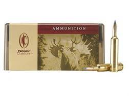 Nosler Custom Ammunition 257 Weatherby Magnum 115 Grain Ballistic Tip Hunting Box of 20