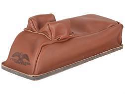 Protektor Bunny Ear Loaf Rear Shooting Rest Bag Leather Tan Filled