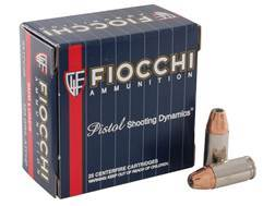 Fiocchi Extrema Ammunition 9mm Luger 124 Grain Hornady XTP Jacketed Hollow Point Box of 25