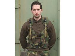 Military Surplus Dutch Camo Load Bearing Vest