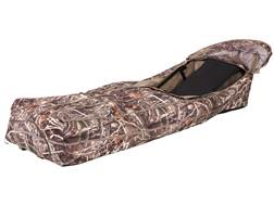 Ameristep Duck Commander The Run Way Layout Blind Polyester Realtree Max-4 Camo
