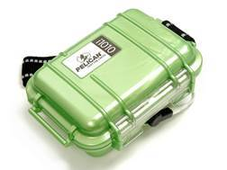 Pelican i1010 Micro iPod Case Polymer Green with Headphone Jack and Reflective Strap