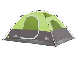 "Coleman Aspenglen 4 Man Instant Dome Tent 108""x 84""x62"" Polyester Black and Green"