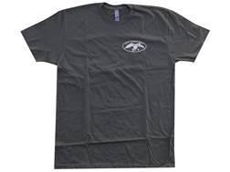 """Duck Commander Men's """"Fear God, Love Neighbor, Hunt Ducks"""" T-Shirt Short Sleeve Cotton Moss XL"""