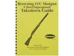 """Radocy Takedown Guide """"Browning O/U"""""""