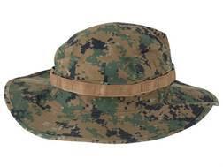 Tru-Spec Boonie Hat Polyester Cotton Twill Woodland Digital Camo 7-1/4