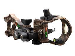 TRUGLO Rival Hunter 3-Pin Bow Sight .029, .019 and .010 Diameter Pins Lost Camo