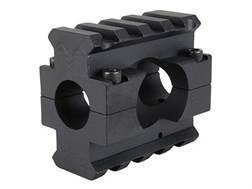 "DoubleStar Gas Block 2 Picatinny Rail AR-15, LR-308 Lightweight Barrel .625"" Inside Diameter Aluminum Matte"