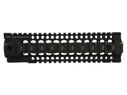 Midwest Industries Gen 2 T-Series Free Float Tube Handguard Quad Rail AR-15 Mid Length Aluminum Black- Blemished