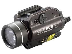 Streamlight TLR-2 HL G Weaponlight LED with Green Laser and 2 CR123A Batteries Fits Picatinny or Glock-Style Rails Aluminum Matte