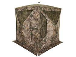 "Browning Phantom Ground Blind 74"" x 74"" x 70"" Polyester Realtree Xtra Camo with ALPS Firelight 240 Lumen Flashlight"