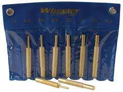 Wheeler Engineering Punch Set 8-Piece Brass
