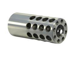 "Vais Muzzle Brake 7/8"" 416 Caliber 5/8""-32 Thread .875"" Outside Diameter x 2"" Length Stainless Steel"