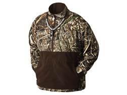 Drake Men's MST Eqwader Plus 1/4 Zip Wader Jacket Waterproof Polyester Realtree Max-5 Camo Large