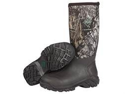 "Muck Woody Sport 16"" Waterproof Insulated Hunting Boots Rubber and Nylon Mossy Oak Break-Up Camo Men's"