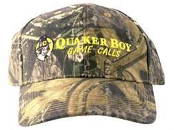 Quaker Boy Logo Cap Cotton Mossy Oak Obsession Camo