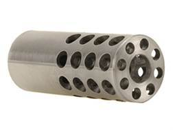 "Vais Muzzle Brake 3/4"" 284 Caliber, 7mm 1/2""-32 Thread .750"" Outside Diameter x 1.950"" Length Stainless Steel"