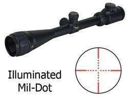 BSA Contender Mil-Dot Target Rifle Scope 6-24x 40mm Adjustable Objective Illuminated Mil-Dot Reticle Matte