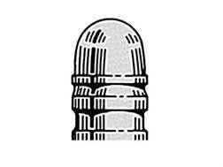 Saeco 1-Cavity Magnum Bullet Mold #321 32 Caliber (313 Diameter) 95 Grain Round Nose