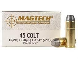 Magtech Cowboy Action Ammunition 45 Colt (Long Colt) 250 Grain Lead Flat Nose