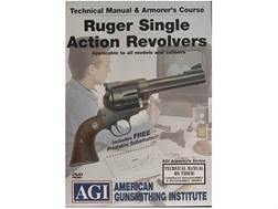 """American Gunsmithing Institute (AGI) Technical Manual & Armorer's Course Video """"Ruger Single Action"""