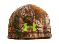 Under Armour Youth ColdGear Infrared Scent Control Beanie Polyester Realtree Xtra Camo