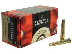 Federal Premium V-Shok Ammunition 22 Hornet 30 Grain Speer TNT Green Hollow Point Lead-Free Box of 50