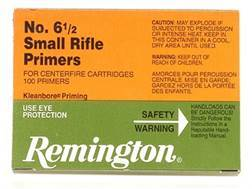 Remington Small Rifle Primers #6-1/2 Box of 1000 (10 Trays of 100)