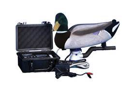 Higdon Fully Flocked Swimmer 12 Volt Mallard Drake Motion Duck Decoy Polymer