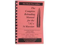 "Loadbooks USA ""7.62x54mm Rimmed Russian (7.62x53mm Rimmed)"" Reloading Manual"