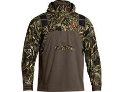 Under Armour Men's ColdGear Infrared SkySweeper Hooded Sweatshirt 1/4 Zip Waterproof Polyester Realtree Max-5 Camo