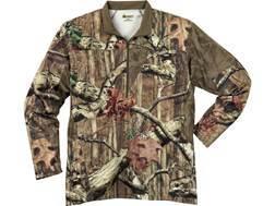 Rocky Men's 1/4 Zip Shirt Long Sleeve Polyester