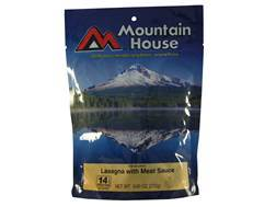 Mountain House Family Size Lasagna with Meat Sauce Freeze Dried Food 5 Servings